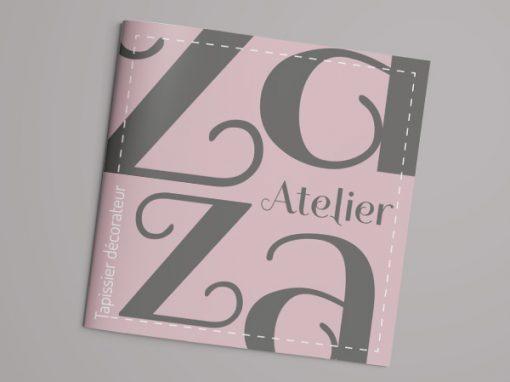 """Atelier Zaza <span class=""""soustitre"""">Tapissier décorateur</span>"""