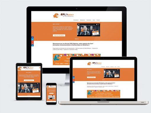 """Opl'Agency<span class=""""soustitre""""> www.oplagency.com </span>"""