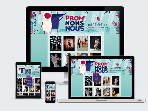"""Festival Promnons Nous<span class=""""soustitre""""> www.festivalpromnonsnous.fr</span>"""