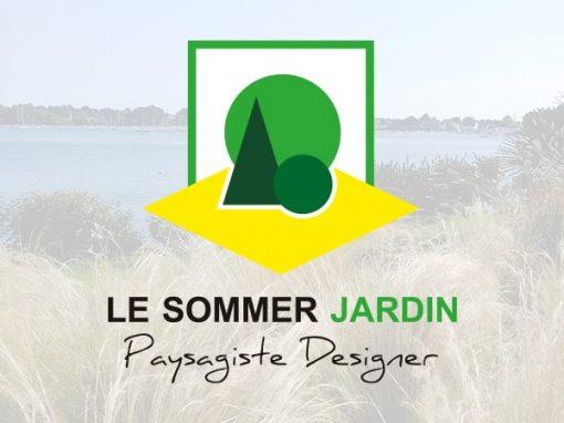 "Le sommer Jardin<span class=""soustitre""> Paysagiste Designer</span>"