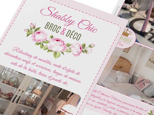 """Shabby Chic Broc & Déco<span class=""""soustitre"""">Boutique atelier</span>"""