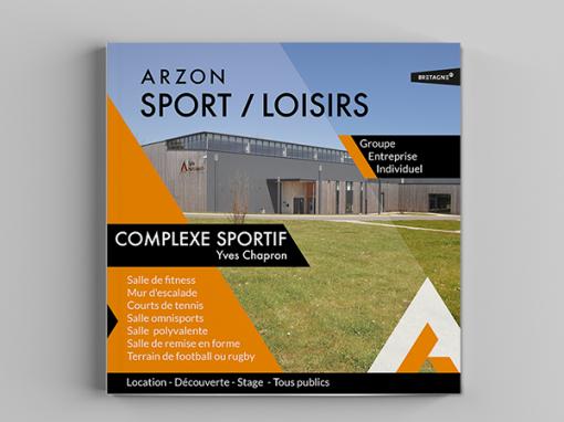 "Arzon Sport & loisirs<span class=""soustitre"">Complexe sportif Yves Chapron</span>"