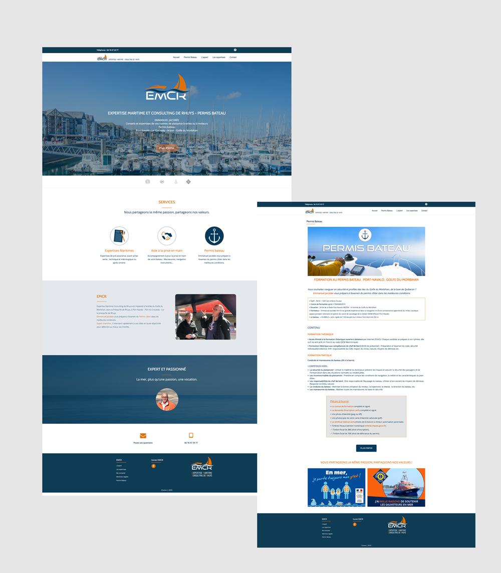 Webdesign - Dawizz - Réalisation du site internet par Turkoiz Créations by Valérie Perrodo