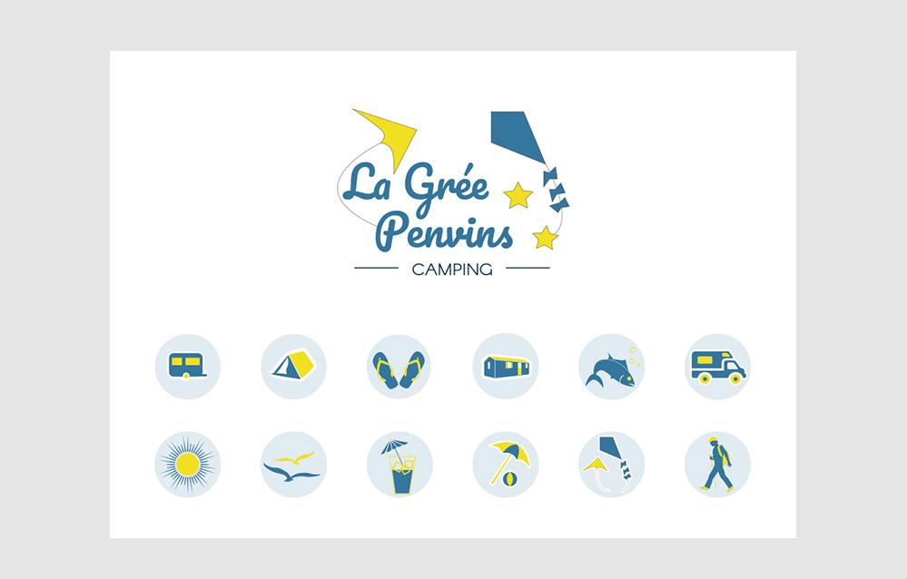 Turkoiz-Creations Camping La Grée Penvins Webdesign