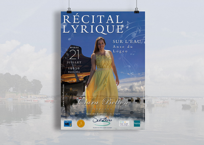 Clara Bellon  Récital lyrique sur l'eau