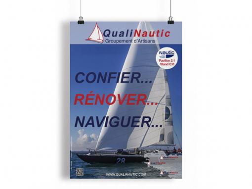 """QualiNautic<span class=""""soustitre""""> Groupement d'Artisans</span>"""